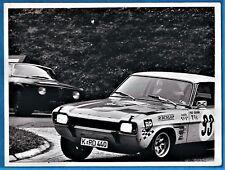 large vintage photo Ford Capri RS 2300 race car foto Tour de France auto  1969