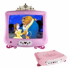 "Disney's PINK Princess 13"" Television and DVD Player w/Remote Controls"