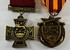 Pair of Full Size Replica WW2 Service/Defence Medals. Victoria Cross, Dunkirk