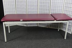 Behandlungsliege Massageliege Therapieliege Praxisliege 2tlg  #86