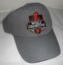****SF GIANTS 2014 WORLD SERIES CHAMPIONS CAP SAN FRANCISCO NEW HAT SGA