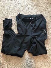 Adidas Black Clima-Warm Soccer Pants Warm-Up Sweats Adult Large