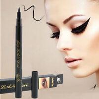 Black Liquid Waterproof Eyeliner Smooth Makeup Eye Liner Pen Pencil BeautyTool
