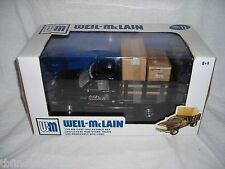 WEIL MCLAIN No 11 DODGE RAM STAKE TRUCK REMOVEABLE LOAD 1:18 DIECAST NRFB NEW