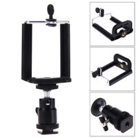 Smartphone Cell Phone to DSLR Mount Clip Adapter Holder with Adjustable Angle