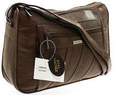 Ladies Genuine Real Leather Bag Designer Organiser Handbag Shoulder Overbody Bag