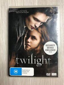 Twilight saga DVD Movie 2009 Kristen Stewart Robert Pattinson Sci Fi