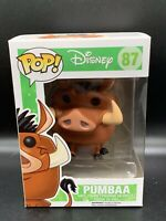 Funko Pop! - Pumba (Disney's The Lion King) #87 - VAULTED - Mint + Pop Protector