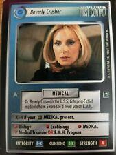 Star Trek CCG First Contact Beverly Crusher NrMint-Mint