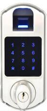Scyan D5 Biometric Fingerprint Keypad Deadbolt Lock