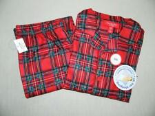 57dcf43358 Family PJs Kids Unisex Red Holiday Plaid Pajama 2PC Set NWT Size 6 7 MSRP