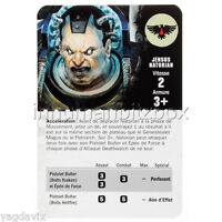 DO42 CARTE JENSUS NATORIAN (FR) DEATHWATCH OVERKILL WARHAMMER BITZ W40K