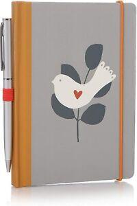 Fallen Leaves A6 Notebook & Pen by Shruti