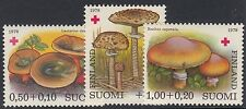 FINLAND :1978 Red Cross -   Fungi set SG937-9 unmounted mint