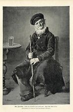L.Knaus ( Der Invalide ) Militärische Graphik von 1898
