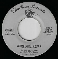 Private NYC Oddball Soul Funk 45 / MRS. CHARLES ALLEN - Commuter City Walk  HEAR