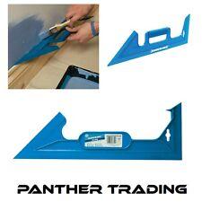 Silverline Plastic Paint Shield  45° & 90° Mask angles & Straight edges - 349035