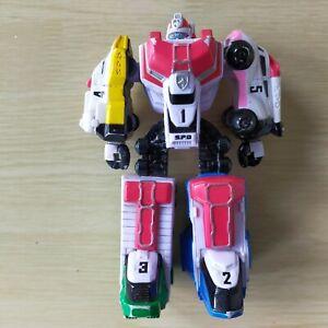 """Power Rangers SPD Megazord 5.5"""" Figure Vehicles Flip Arm Action"""