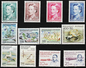 GREENLAND - COMPLETE YEAR 1990 - 187 to 198 - MNH -