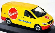 Mercedes-Benz Vito W 639 Box Truck Sinalco 2003-10 Yellow 1:43 Minichamps