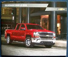 Prospekt brochure 2019 Chevrolet Chevy Silverado 1500 LD (USA)