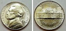 1-1945 S JEFFERSON WAR NICKEL SILVER COIN NICE UNCIRCULATED FROM BU ROLL