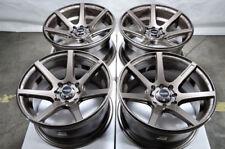 15x8 Wheels Corolla Civic Accord Escort Miata Mini Cooper Bronze Rims 4 Lugs