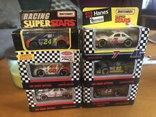 Nascar Matchbox Racing Superstars Lot Of 6 w/ White Rose Collectible Very Rare