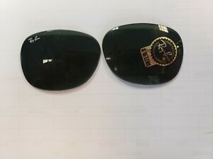 Ray Ban Wayfarer 2132 Replacement Lenses 58 Solid G-15. MANY available