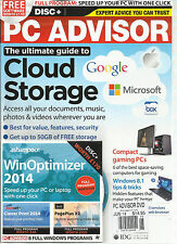 PC ADVISOR THE ULTIMATE GUIDE TO CLOUD STORAGE. JUNE, 2014 ( COMPACT GAMING PCs)