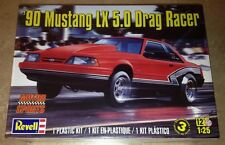 Revell 1990 Ford Mustang LX 5.0 Drag Racer 1/25 plastic model car kit new 4195