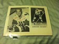 Gordie Howe Personalized Autographed Hockey Photo in Whalers Uniform