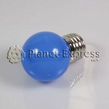 Ampoule 1W LED E27 Bleu 220V 90 lumens Décoration,environnement,jardin SMD 3014