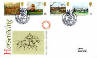 6 JUNE 1979 HORSE RACING POST OFFICE FIRST DAY COVER DERBY 200 EPSOM SHS