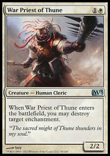 MTG 2x WAR PRIEST OF THUNE - SACERDOTE GUERRIERO DI THUNE - M13 - MAGIC