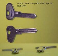 Vw Volkswagen Bus,Thing/Type 181,Trekker 71-79 Key Blank R Profile Vw71A V81V(Fits: Volkswagen Thing)