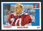 Dave Foley 2005 Topps All American #20 signed autograph auto Football Card