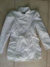 lotto 523 impermeabile bianco original marins bimba bambina 8 Anni