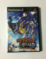 USED PS2 Ratchet & Clank 3 JAPAN Sony PlayStation 2 import Japanese game