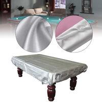 250cm x 140cm 8Ft Silver Waterproof Billiards Snooker Pool Table Dust Cov