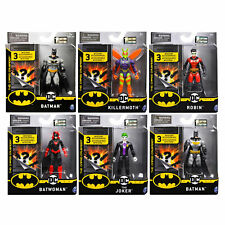 Batman 4-Inch Action Figures *Choose Your Favourite*