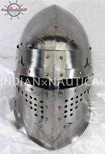 Medieval Great Bascinet Helmet~Hand-Forged helmet by Vimhari