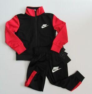 Nike Toddler Boys Just Do It Fly Zip Up Track Jacket Pants Set Sz 4 7 NWT $48