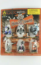 Rare Homie Clowns Series #1 6 Figures MINT IN SEALED PACKAGE 2002