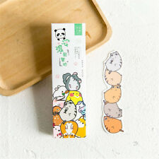 30pcs/box Cute Cartoon Animals Paper Bookmark Kawaii School Stationery Children