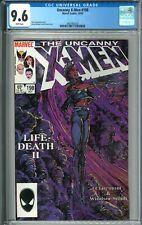 X-Men #198 CGC 9.6 NM+ WP Marvel Comics 10/851985 Barry Windsor Smith Cover