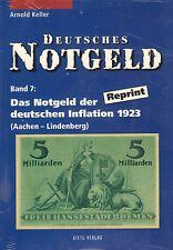 6016: Deutsches Notgeld, vol. 7+8, il Notgeld della DT. inflazione 1923, A. Keller
