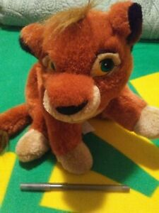 Disney The Lion King 2 Simba's Pride Kovu plush soft toy, 1998 Disney Store