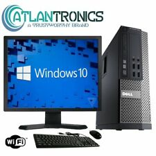 Fast Dell 7010 Computer PC i5-3470 Quad 3.2Ghz 8GB 1TB Windows 10 19