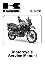 Kawasaki service manual 2008, 2009, 2010, 2011 & 2012 KLR650